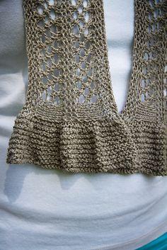 Ravelry: Summertime Scarfette pattern by Lisa Seifert :: DoleValleyGirlKnits