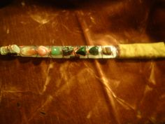 Crystal and copper wand for prosperity, very powerful.