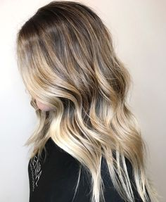 High Contrast Balayage