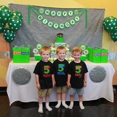 Teenage Mutant Ninja Turtles Birthday Party Ideas | Photo 1 of 12 | Catch My Party