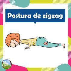 Fichas con posturas de YOGA para niños en PDF para descargar Chico Yoga, Yoga 1, Yoga For Kids, Asana, Reiki, Yoga Fitness, Mindfulness, Exercise, Education
