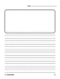 Writing Paper - Lined Writing Paper, Differentiated Writing- Portrait -VARIETY - Clip art - Essay Writing Tips, Writing Resources, School Resources, Teaching Schools, Teaching Language Arts, Educational Activities For Preschoolers, Alphabet Activities, Lined Writing Paper, Paper Writer