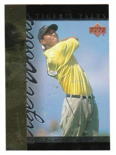 Tiger Woods # TT-16 - 2001 Upper Deck Golf Tiger's Tales