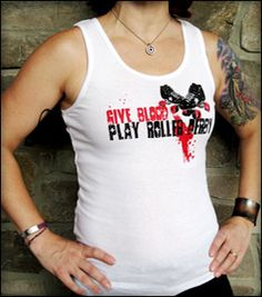 Derbylicious: Your Source for Everything Roller Derby - Shirts, Buttons, Stickers, Jewelry and much more!