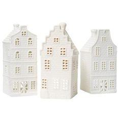 Dutch House Tea Light Holders