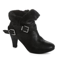 Twisted Women's Hailey Faux Fur Cuffed Ankle Booties * For more information, visit image link. #bootsforwomen