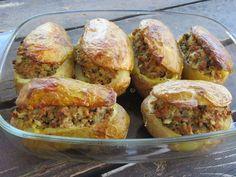 Cookbook Recipes, Cooking Recipes, Greek Recipes, Potato Recipes, Baked Potato, Baking, Ethnic Recipes, Food, Inspiration