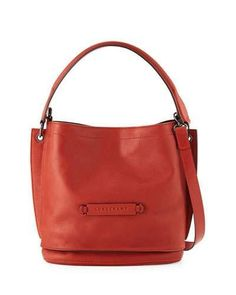 3c8e18e6c29 LONGCHAMP LONGCHAMP 2.0 LEATHER CROSSBODY BAG, POPPY RED.  longchamp  bags   crossbody