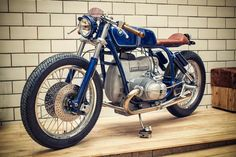 BMW By Kingston Custom http://goo.gl/v95p4Y #BMWMotorrad #CafeRacer #KingstonCustom #R100