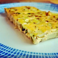 Frittata mit Zucchini & Kartoffeln aus dem Backofen