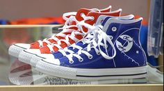 "By Nicole Pence COLUMBUS, Ind. (Oct. 23, 2014)-- Any basketball fan will tell you Converse ""Chuck Taylor"" All-Stars shoes are iconic. You would most likely recognize the shoe, but did you know the ..."