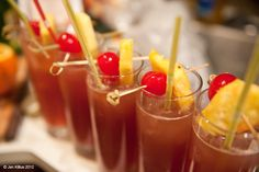 This is a good post! Standard ingredients for Tiki party drinks: Orgeat, passion fruit syrup, Falernum, and honey syrup. #DIY