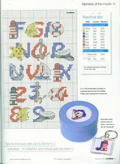 nautical alphabet 2-of-2 / Gallery.ru / Фото #42 - 3 - KIM-3