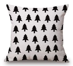 """Cushion Cover Pillow Case 45cm/18"""". Image printed on one side of the cover. Cover only without insert. 