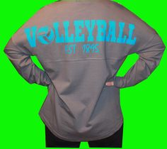 Volleyball Oversized Long Sleeve T-shirt