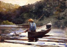 Boy Fishing by Winslow Homer 1892