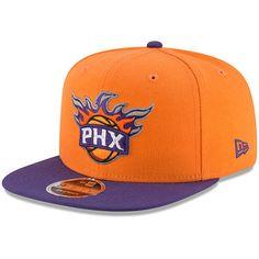 2356e779a1ca4 Men s New Era Orange Purple Phoenix Suns 2-Tone Original Fit 9FIFTY  Adjustable Snapback Hat