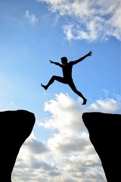 Confidence? Take that leap!