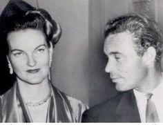 Doris Duke and her playboy husband, Porfirio, during the short span of their marriage.
