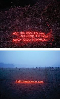 Neon Text Installations by Lee Jung | Inspiration Grid | Design Inspiration