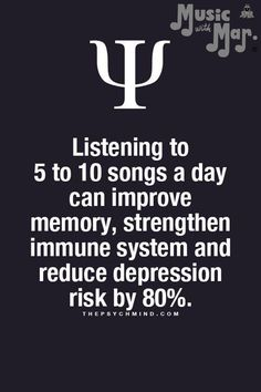 Psychology Says, Psychology Quotes, Wild Quotes, Brain Facts, Secret Law Of Attraction, Study Inspiration, True Facts, Listening To Music, Good To Know