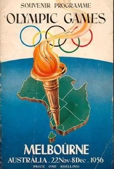 Before the 1956 Olympic Games, international chefs were attracted to cater for visiting athletes. Many stayed on to open restaurants of their own. 1956 Olympics, Summer Olympics, Vintage Advertisements, Vintage Ads, Vintage Signs, Vive Le Sport, Posters Australia, Australian Vintage, Australian Food