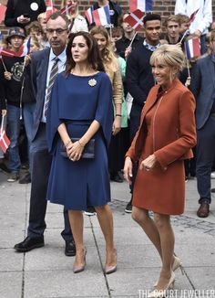 French Visit to Denmark: Tours and Farewells Princess Marie Of Denmark, Royal Princess, Crown Princess Mary, Royals Today, Mary Donaldson, Lady Mary, Royal Dresses, Danish Royal Family, My Fair Lady