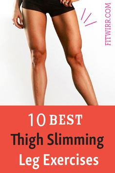 10 best leg exercises to tone your thighs and banish your thigh fat. 10 best leg exercises to tone your thighs and banish your thigh fat. Leg Workout Women, Best Leg Workout, Fat Workout, Workout Tips, Workout Fitness, Get Skinny Thighs, Skinny Legs, Inner Thight Workout, Toned Legs Workout