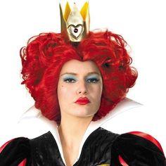 Queen of Hearts Wig - Party City Queen Of Hearts Halloween Costume, Sexy Halloween Costumes, Halloween Makeup, Halloween City, Halloween 2014, Red Queen, Queen Of Hearts Wig, Halloween Supplies, Kids Makeup