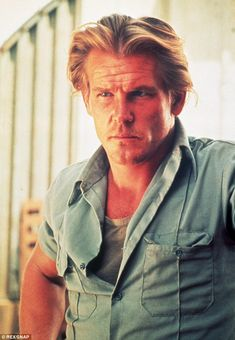 Nick Nolte -Back in the day: The actor was once considered the sexiest man alive, as seen here in the 1978 film Who'll Stop The Rain