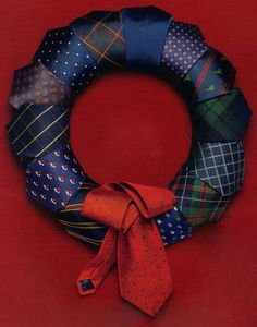 Tie Wreath :)
