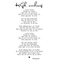 """Brievenbusgeluk op Instagram: """"• Kijk omhoog • ©️ . Toen ik een paar weken geleden van iemand het verzoek kreeg een gedicht te schrijven nadat haar vader overleden was…"""""""