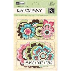 Find Kelly Panacci Blossom Layered at Simplicity, plus many more unique crafts & crafts projects, supplies, tools & more. Scrapbook Supplies, Scrapbooking, Studio Calico, Flower Shape, Paper Design, Colorful Flowers, Embellishments, Craft Projects, Layers