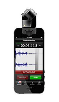 The RØDE i-XY is the ultimate recording microphone for iPhone® or iPad®. With up to 24-bit/96k* recording and on-board high-fidelity A/D conversion, your iXY recordings are rich, smooth and accurate.