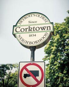 Travel guide to Corktown neighborhood of Detroit