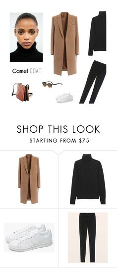 """/"" by darkwood ❤ liked on Polyvore featuring MaxMara, adidas and camelcoat"