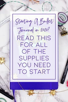 I'm a veteran of the bullet journal, so I've used a lot of bullet journal supplies over the years. Here are my favorite supplies for beginners and beyond!