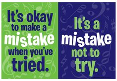 """MISTAKE 13½"""" x 19"""" poster"""