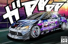 its been a while since I draw an Itasha! This evo was commissioned by @immy_4g63  Drawing this was a blast, i almost forget how intricate it is to match panel by panel and draw complicated designs.  #cardrawing #carillustration #carart #cosplay #anime #itasha #jdm #illustration #drawing #otaku #drift #speedhunters #carculture #ae86 #mx5 #wrx #evo#drift #heartofotakuculture #needforspeed #scionfrs #tsukuba #ontakeriput #naruto #mitsubishi #lancer #gt86 #freedomride #initiald #touge
