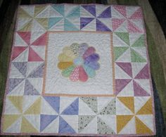 Very pretty, would make a lovely baby quilt