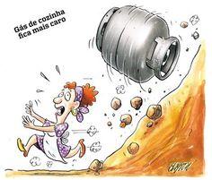 INFLAÇÃO.!... do gás de cozinha em um país produtor e exportador de gás.!...