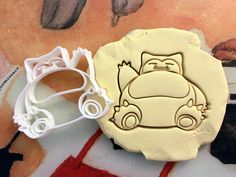 Snorlax Pokemon Cookie Cutter Made from by StarCookies on Etsy