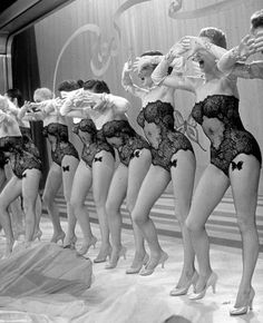 Burlesque Troop.  Like the little butterfly on each upper thigh.