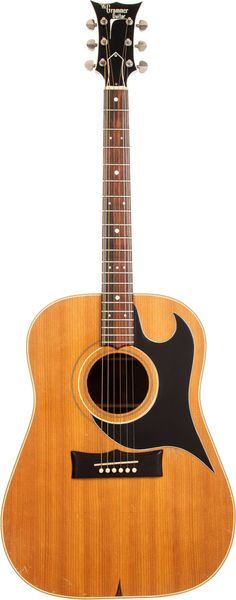 Circa 1966 Grammer G-20 Natural Acoustic Guitar. Pre-Ampeg Nashville built Grammer.