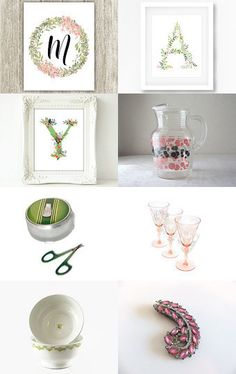 M is for... May and Mom by Susan Fischer on Etsy--Pinned with TreasuryPin.com