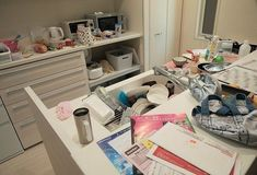 Vanity, Adhd, Life, Kitchen, Home Decor, Ideas, Painted Makeup Vanity, Cuisine, Homemade Home Decor