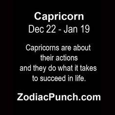 Capricorn facts from ZodiacSigns.com | Capricorn facts from ZodiacSigns.com