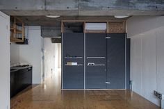 Renovated Apartment with Fabric Walls in Tokyo by Daisuke Motogi