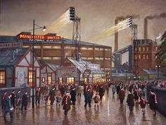 Old Trafford some time ago