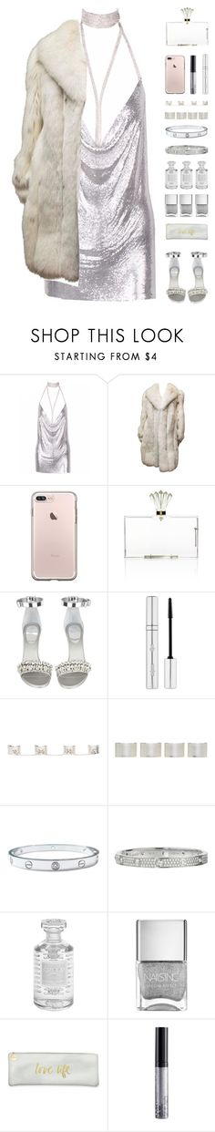 """""""Probably one of kendall jenner's best style"""" by igedesubawa ❤ liked on Polyvore featuring Charlotte Olympia, Givenchy, Zelens, Maison Margiela, Cartier, Creed, Fringe, NYX, vintage and simpleoutfit"""